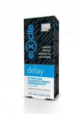 Excite delay gel exend your pleasure and reduce oversensivility for men 15 ml / Ексайт мен делей гел за мъже за намаляване на свръхчувствителността 15 мл
