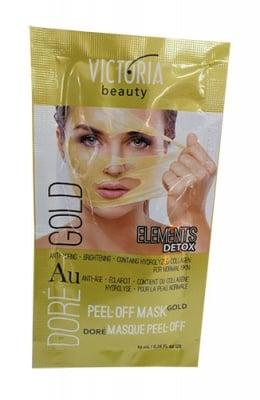 Victoria Beauty firming and tightening face mask with gold 10 ml / Виктория бюти отлепяща златна маска за лице 10 мл