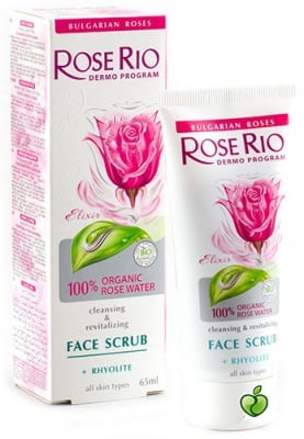 Rose Rio Cleansing and revitalizing face scrub 65 ml / Роуз рио почистващ и ревитализиращ скраб за лице 65 мл