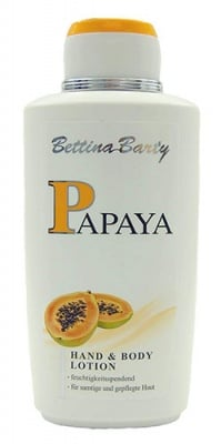 Bettina Barty Papaya hand and body lotion 500 ml / Бетина Барти Папая лосион 500 мл