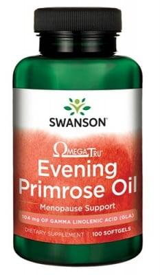 Swanson Evening primrose oil EFAs 1300 mg 100 softgels / Суонсън Масло от Вечерна иглика ЕФА 1300 мг. 100 капсули