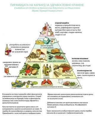 Препоръки за здравословно хранене