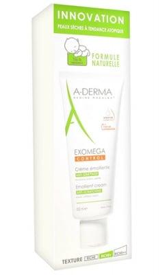 A-Derma Exomega Control emollient cream 200 ml. / А-Дерма Екзомега контрол емолиентен крем 200 мл.