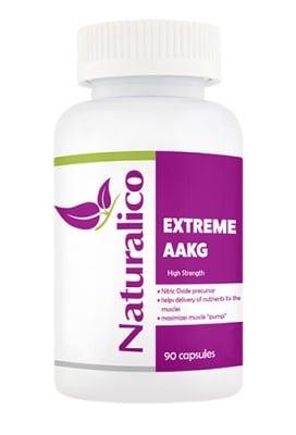 Naturalico extreme AAKG 90 capsules / Натуралико екстрийм AAKG 90 капсули