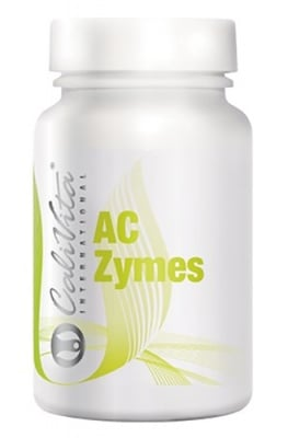 Calivita AC ZYMES 100 capsules / Каливита Ацидофилус AC-ZYMES 100 капсули