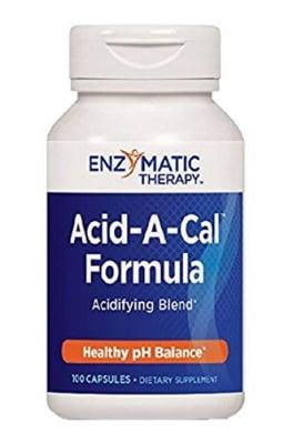 Acid-a-cal formula 90 capsules Enzymatic Therapy / Ацид-а-кал формула 90 капсули Ензиматик терапи