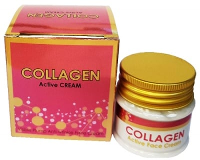 Collagen Active Anti-Wrinkle Face Cream 50 ml Dr. Green / Колаген Актив Крем за лице против бръчки 50 мл. Др. Грийн