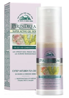 Pirin dream super active gel scrab 50 ml. / Пирин дрийм Супер активен гел скраб 50 мл.