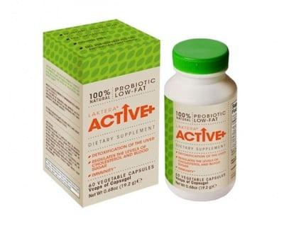 Laktera+ Active 60 capsules / Лактера+ Актив 60 капсули