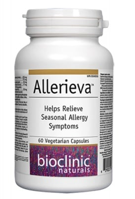 Allerieva 627 mg 60 capsules Natural Factors / Алериева 627 мг. 60 капсули Натурал Факторс