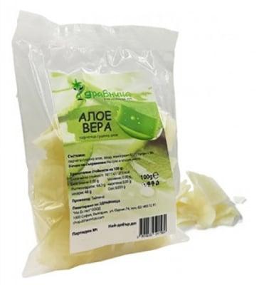 Aloe Vera dried pieces 100 g Zdravnitza / Алое вера сушени парченца 100 гр. Здравница