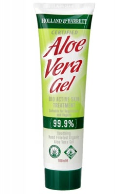 Aloe vera gel 100 ml. Holland & Barrett / Алое Вера гел 100 мл. Holland & Barrett