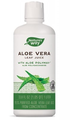 Aloe Vera leaf juice 1 liter Nature's Way / Алое Вера сок от цели листa 1 л. Nature's Way