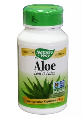 Aloe Vera 275 mg 100 capsules Nature's Way / Алое Вера 275 мг. 100 капсули Nature's Way