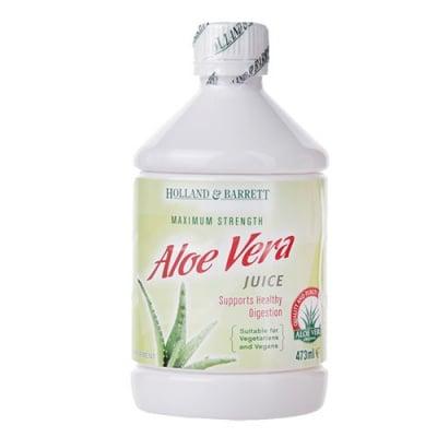 Aloe Vera juice drink 473 ml. Holland & Barrett / Алое Вера сок 473 мл. Holland & Barrett