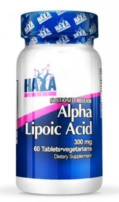 Haya Labs Alpha lipoic acid TR 600 mg 60 tablets / Хая Лабс Алфа липоева киселина TR 600 мг. 60 таблетки