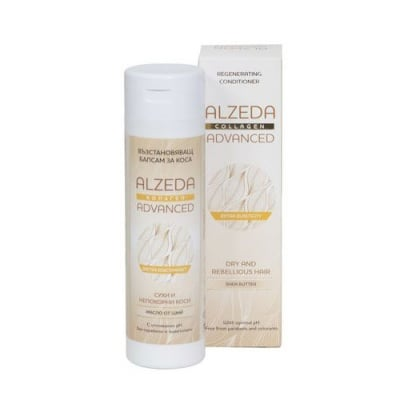 Alzeda Advanced Conditioner for dry hair with collagen250 ml / Алзеда Възстановяващ балсам за суха коса с колаген 250 мл.