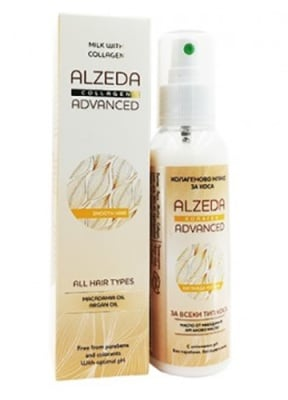 Alzeda advanced milk with collagen for all hair types 120 ml / Алзеда мляко за коса с колаген 120 мл.
