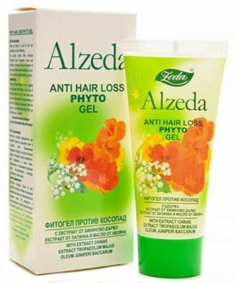Alzeda anti hair loss phyto gel 100 ml / Алзеда Фитогел против косопад 100 мл.