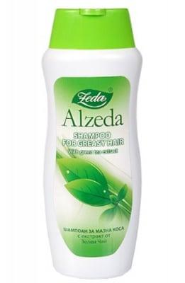 Alzeda shampoo with green tea for oily hair 250 ml / Алзеда шампоан за мазна коса със зелен чай 250 мл.