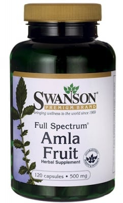 Swanson Full spectrum Amla fruit 500 mg 120 capsules / Суонсън Амла фул спектрум 500 мг. 120 капсули