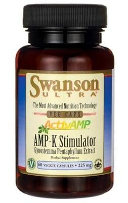 Swanson AMP-K stimulator 225 mg 60 veggie capsules / Суонсън активен АМР-К стимулатор 225 мг. 60 капсули