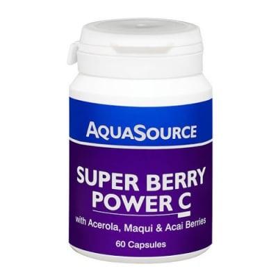 Aquasource Super Berry Power C 60 capsules / Аквасорс Плодова Енергия 60 капсули