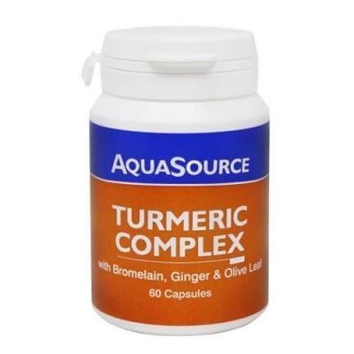 Aquasource Turmeric Complex 60 capsules / Аквасорс Куркума Комплекс 60 капсули