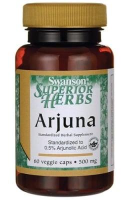 Swanson arjuna 500 mg 60 capsules / Суонсън Арджуна 500 мг. 60 капсули