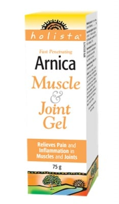 Arnica muscle & joint gel 75 g Natural Factors / Арника гел за мускули и стави 75 гр. Натурал Факторс