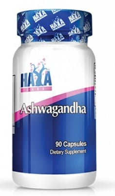 Haya Labs Ashwagandha 450 mg 90 capsules / Хая Лабс Ашваганда 450 мг. 90 капсули