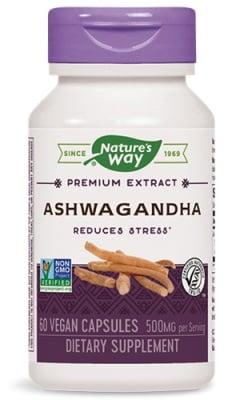 Ashwagandha 500 mg. 60 capsules Nature's Way / Ашваганда 500 мг. 60 капсули Nature's Way