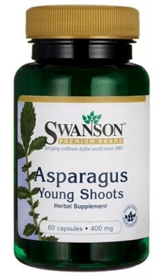 Swanson Asparagus 400 mg 60 capsules / Суонсън Аспержи 400 мг. 60 капсули
