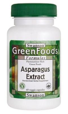 Swanson Asparagus extract 60 capsules / Суонсън Аспержи екстракт 60 капсули