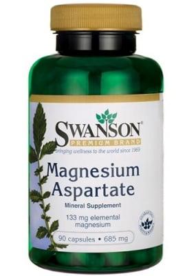 Swanson magnesium aspartate 685 mg 90 capsules / Суонсън Магнезиев аспартат 685 мг. 90 капсули