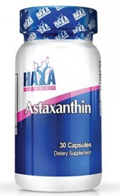 Haya Labs Astaxanthin 5 mg 30 capsules / Хая Лабс Астаксантин 5 мг. 30 капсули