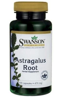 Swanson Astragalus root 470 mg 100 capsules / Суонсън Астрагалус корен 470 мг. 100 капсули