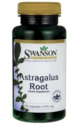 Swanson Astragalus root 470 mg 100 capsules / Суонсън Астрагалус корен 470 мг. 100 капсули