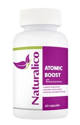 Naturalico atomic boost 60 capsules / Натуралико Атомик бууст 60 капсули