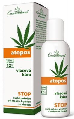Cannaderm Atopos hair serum for eczema and psoriasis 100 ml. / Канадерм Атопос серум за коса при екзема и псориазис 100 мл.