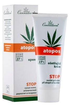 Cannaderm Atopos Cream for eczema and psoriasis 75 ml. / Канадерм Атопос Крем при атопични екземи и псориазис 75 мл.