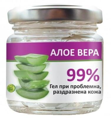 Aura 99% gel aloe vera 100 ml / Аура 99% гел от Алое вера 100 мл.