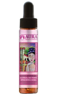 Aura anti-age serum for mature and problematic skin without tonus 20 ml / Аура антиейдж серум за зряла и проблемна кожа без тонус 20 мл.