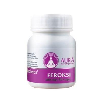 Aura Feroksi 300 mg 50 capsules / Аура Ферокси 300 мг. 50 капсули