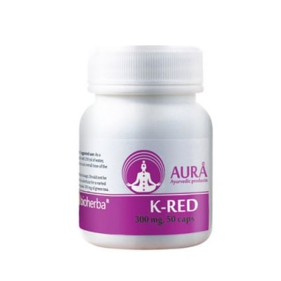 Aura K-Red 300 mg 50 capsules / Аура К-Ред 300 мг. 50 капсули
