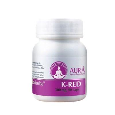 Aura K-Red 300 mg 50 capsules / Аура К-Ред 300 мг. 50 капсули