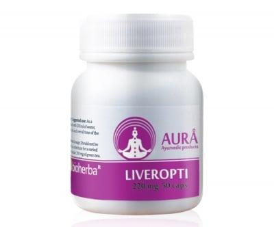 Aura Liveropti 220 mg 50 capsules / Аура Ливеропти 220 мг. 50 капсули