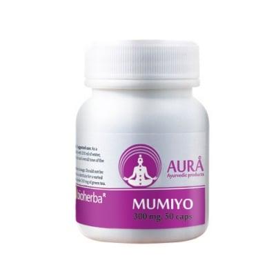 Aura Mymiyo 300 mg 50 capsules / Аура Мумио 300 мг. 50 капсули