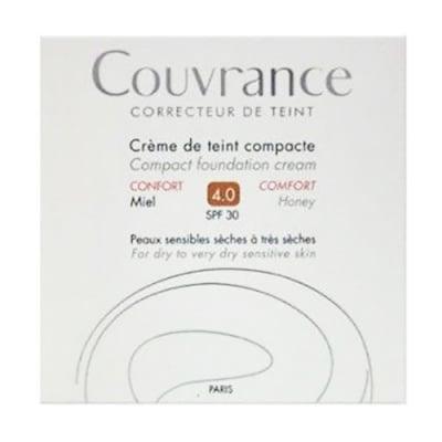 Avene Couvrance Comfort compact foundation cream SPF30 04 honey / Авен компактна крем-пудра Комфорт SPF30 04 меден