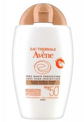 Avene tinted mineral fluid SPF50+ 50 ml. / Авен Слънцезащитен минерален оцветен флуид SPF50+ 50 мл.